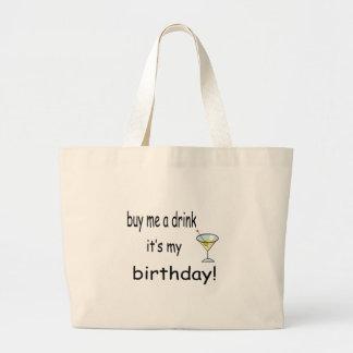 Buy Me A Drink Canvas Bag