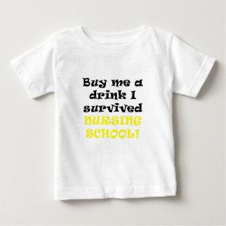 Buy me a Drink I survived Nursing School T-shirts
