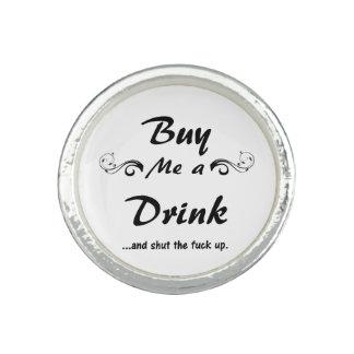 Buy me a Drink... Photo Rings