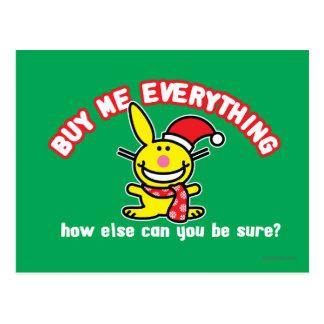 Buy Me Everything Postcard