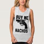 Buy Me Nachos Flowy Muscle Tank Top