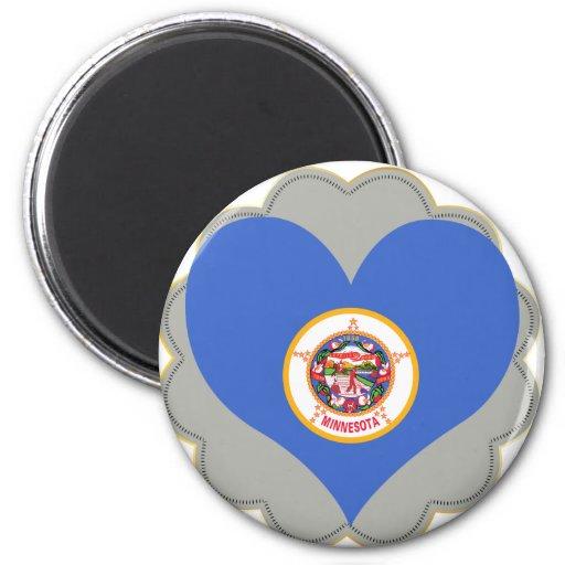 Buy Minnesota Flag 2 Inch Round Magnet