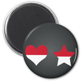 Buy Monaco Flag Magnet