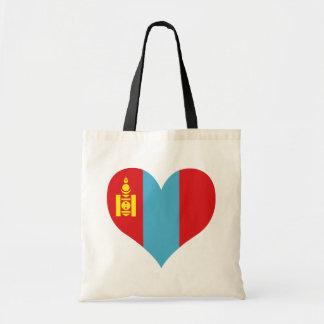 Buy Mongolia Flag Canvas Bag