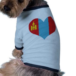 Buy Mongolia Flag Dog Clothes