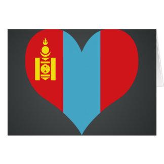 Buy Mongolia Flag Greeting Card