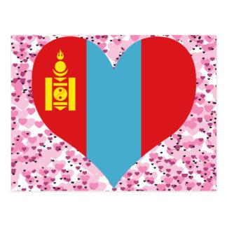 Buy Mongolia Flag Postcard