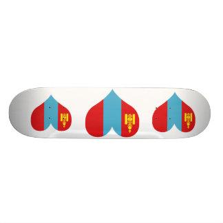 Buy Mongolia Flag Skate Deck
