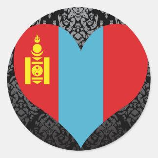 Buy Mongolia Flag Stickers