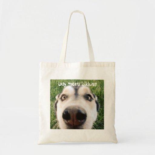 Buy more bikkies bag