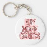 Buy More Comics Keychain