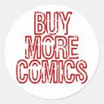 Buy More Comics Stickers