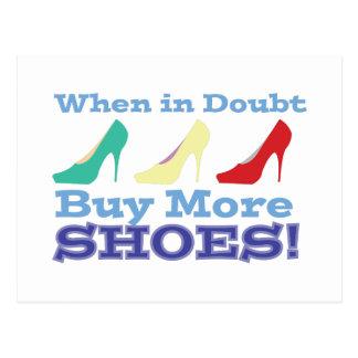 Buy More Shoes! Postcard