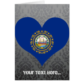 Buy New Hampshire Flag Greeting Card
