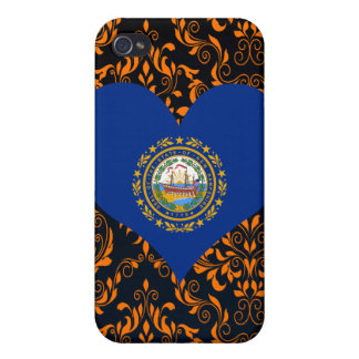 Buy New Hampshire Flag iPhone 4 Covers