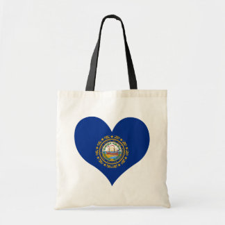 Buy New Hampshire Flag Tote Bags