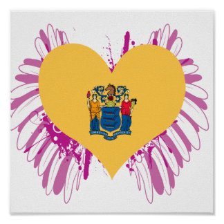 Buy New Jersey Flag Poster