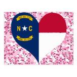 Buy North Carolina Flag Postcard