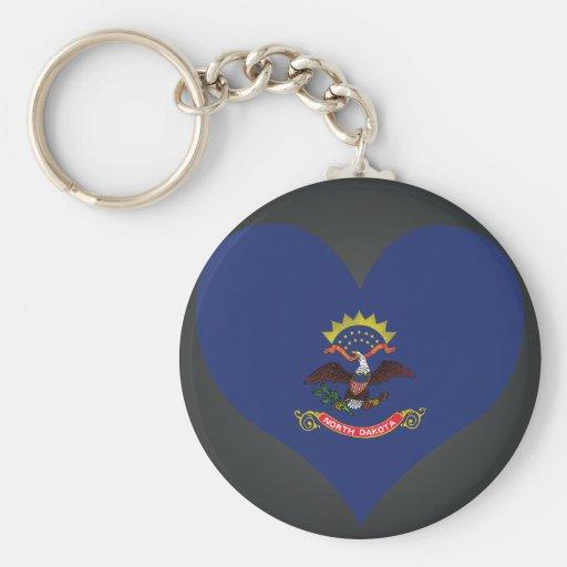Buy North Dakota Flag Key Chain