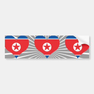 Buy North Korea Flag Bumper Stickers