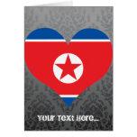 Buy North Korea Flag Cards