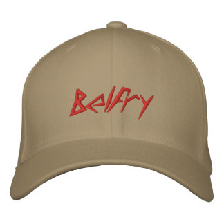 "BUY NOW! Hat ""Belfry"" $24.90 Embroidered Baseball Caps"