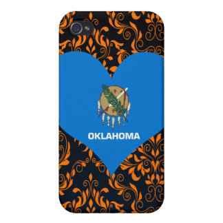 Buy Oklahoma Flag Cover For iPhone 4