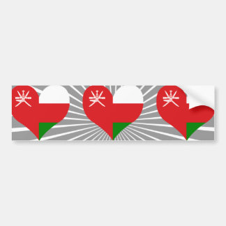 Buy Oman Flag Car Bumper Sticker