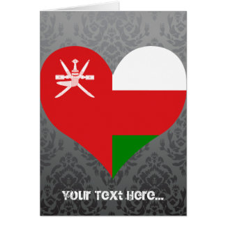 Buy Oman Flag Greeting Card