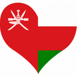 Buy Oman Flag Standing Photo Sculpture