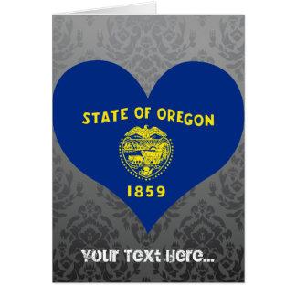 Buy Oregon Flag Greeting Card