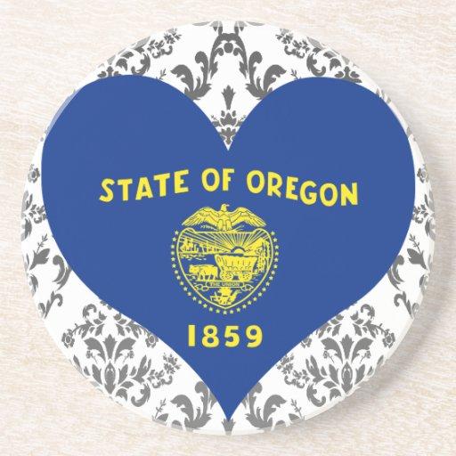 Buy Oregon Flag Drink Coaster