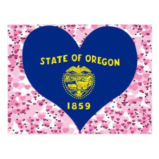 Buy Oregon Flag Post Cards