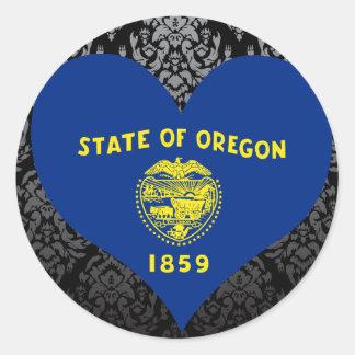 Buy Oregon Flag Sticker