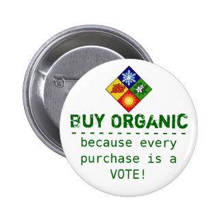 Buy Organic Button
