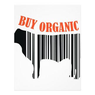 Buy Organic Letterhead