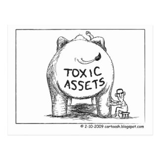 Buy Out Toxic Assets Postcard