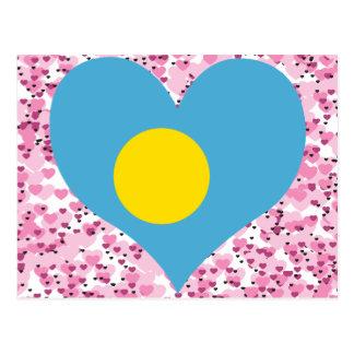 Buy Palau Flag Post Cards