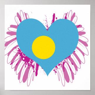 Buy Palau Flag Posters
