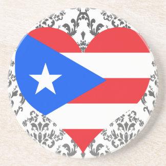 Buy Puerto Rico Flag Sandstone Coaster