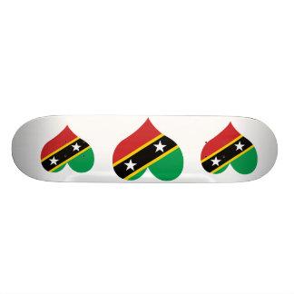 Buy Saint Kitts and Nevis Flag Custom Skateboard