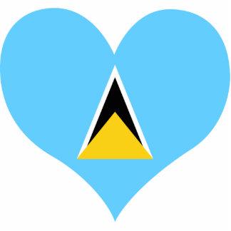Buy Saint Lucia Flag Statuette