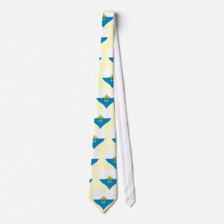 Buy San Marino Flag Neck Tie