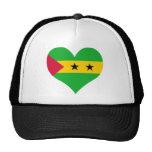 Buy Sao Tome and Principe Flag Mesh Hat