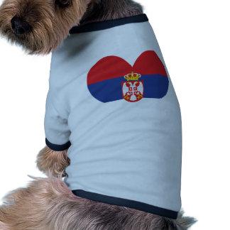 Buy Serbia Flag Doggie T-shirt