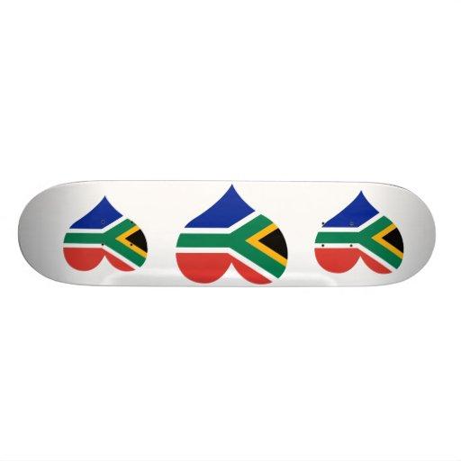 Buy South Africa Flag Skateboard