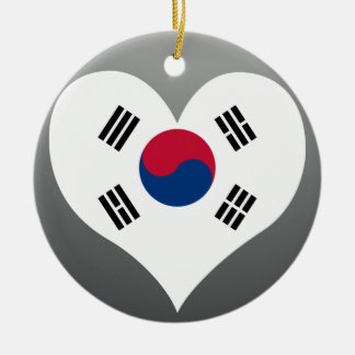 Buy South Korea Flag Ceramic Ornament