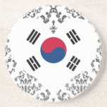 Buy South Korea Flag Coaster