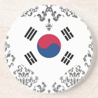 Buy South Korea Flag Drink Coaster