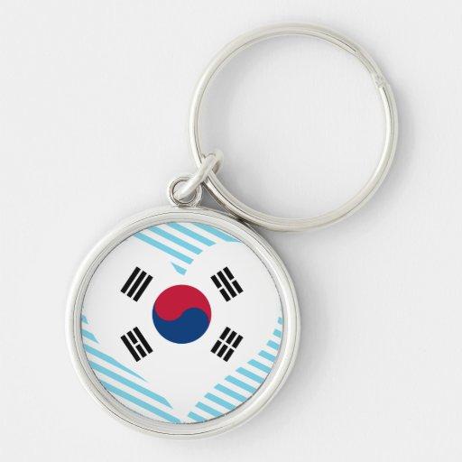 Buy South Korea Flag Keychains